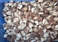 Typical Flavor IQF Mushrooms / Shiitake Mushrooms Quarter Cut ISO Approval