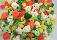 BRC Certified 100% Fresh Delicious IQF Bulk Frozen Mixed Vegetables