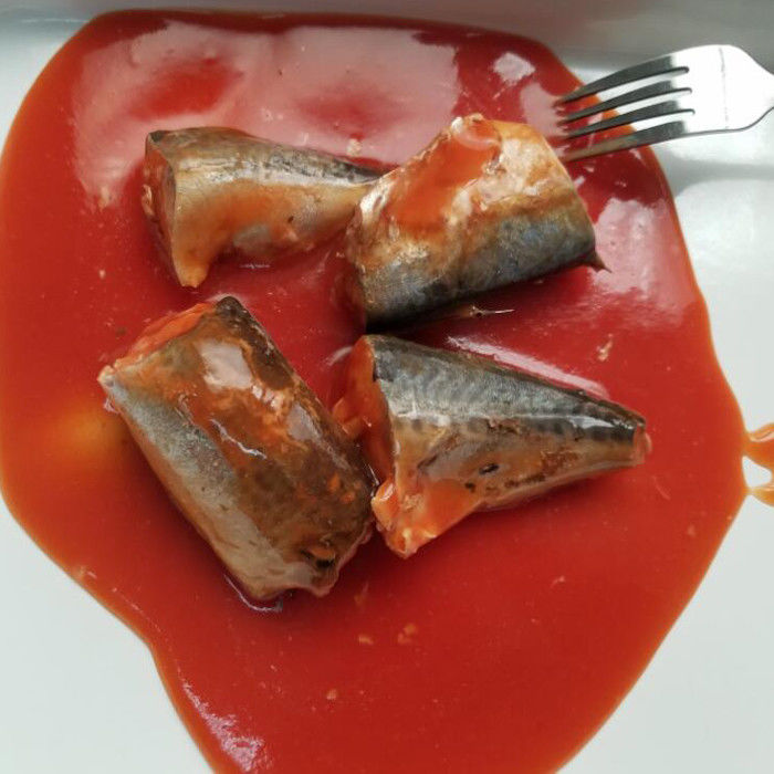 425G Canned Mackerel In Tomato Sauce Canned Fish to Different Markets